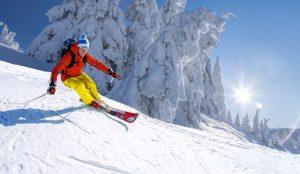 LASIK surgery skier