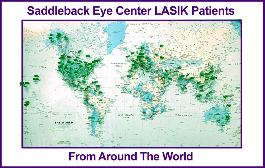 LASIK patients for Saddleback Eye Center